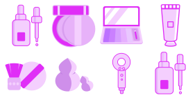 Beauty category Icon Icons