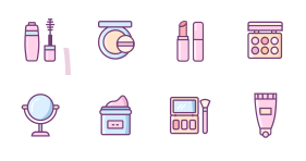 Make-up Icon Icons