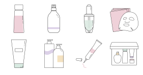 Makeup skin care Icons