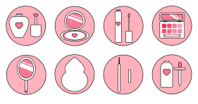 New beauty series in spring Icons