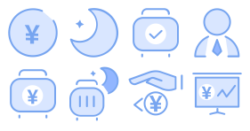 Blue form Icons