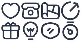 Business linear Icon Icons