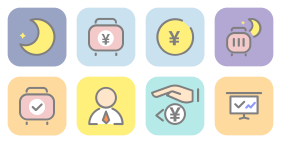 Color version of reimbursement form Icons