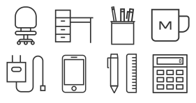 Company daily icons Icons
