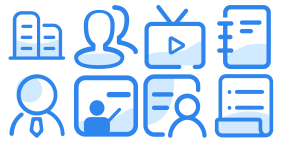 Enterprise organization specific icon Icons