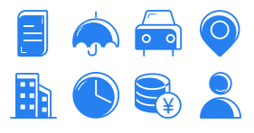 Financial coloring general Icon Icons