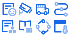 OA office series Icon Icons