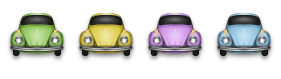 Classic Beetle Icons