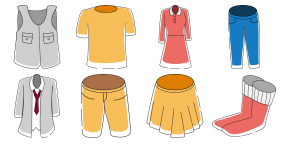 Clothing category Icons