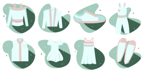 Clothing icons Icons