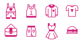 Clothing series Icons