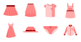 Clothing series Icon Icons