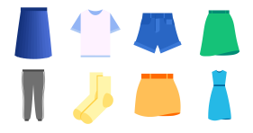 New in spring - clothing collection Icon Icons