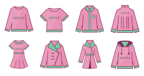New spring clothes Icons