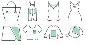 Spring clothes Icons