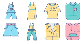 "The new ""no loss of spring"" series in spring Icons"