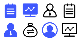 Excellent fresh CRM Icons