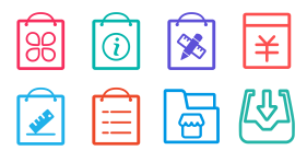 Shop management Icons