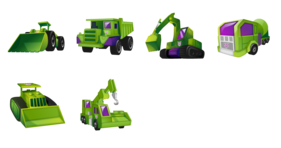 Constructicons Icons