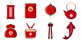Chinese Icon Icons