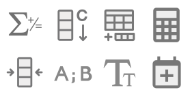 Data mining Icon Library Icons