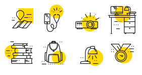 Simple linear education Icon Icons