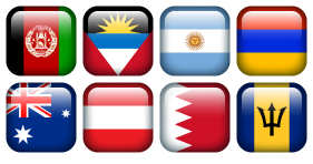 Flag Borderless Icons