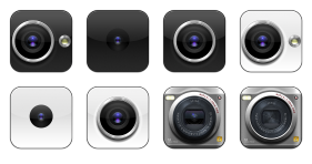 Flurry Cameras Icons