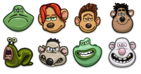 Flushed Away Icons