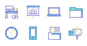 Office supplies Icon Icons