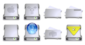 G5 Drives Icons