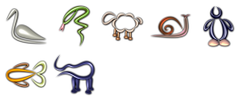 Glass Zoo Icons