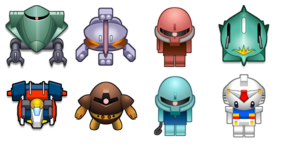 Gundam Mobile Fortune Icons