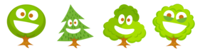 Happy Trees Icons