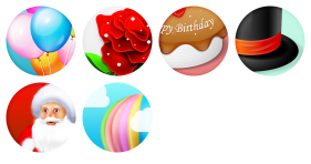 Holiday Seasons Icons