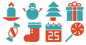 Christmas practice Icons