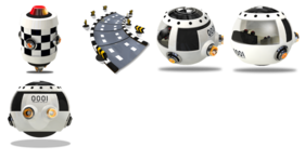 Interstellar Racing Car Icons