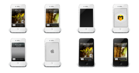iPhone 4 Icons