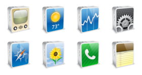 iPhone4 Mini Icons