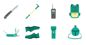 Outdoor products Icons