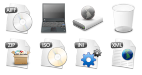 Longhorn Objects Icons
