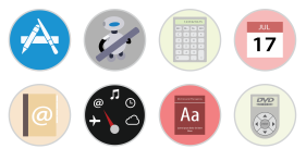 Mac Stock Apps Icons