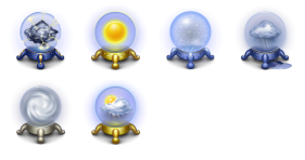 Magic Weather Icons