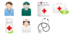 Medical People Icons