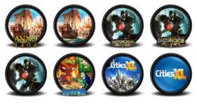 Mega Games Pack 34 Icons