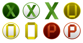 Microsoft Office Yosemite Icons