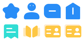 Academic work system Icons