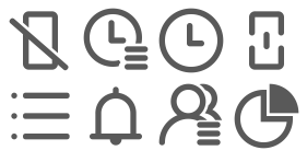 Cloud call center Icons