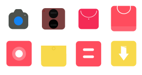 Pure color Icons