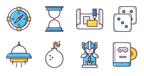 Color game icon Icons